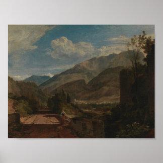 Joseph Mallord William Turner - Chateau de St. Poster