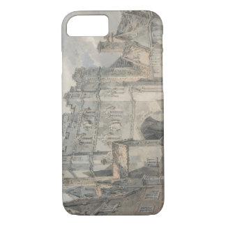 Joseph Mallord William Turner - Christ Church Gate iPhone 7 Case