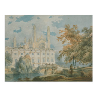 Joseph Mallord William Turner - Clare Hall Postcard