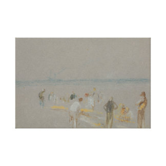 Joseph Mallord William Turner - Cricket on the Gallery Wrapped Canvas