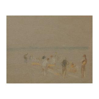 Joseph Mallord William Turner - Cricket on the Wood Print