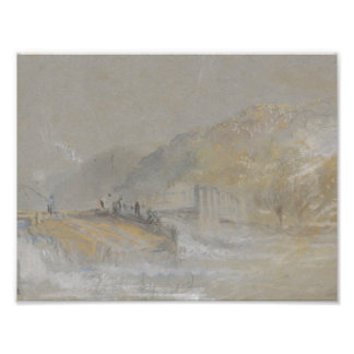 Joseph Mallord William Turner - Foul by God- River Photograph