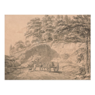 Joseph Mallord William Turner - Man with Horse Postcard