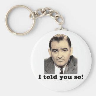 Joseph McCarthy Key Chain