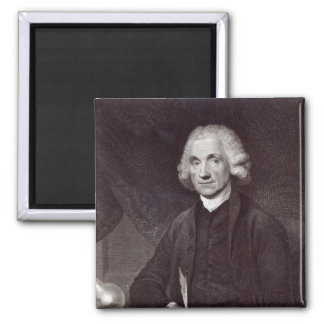 Joseph Priestley Square Magnet