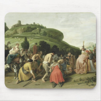 Joseph Receives his Father in Egypt, 1628 Mouse Mat