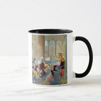Joseph Receiving the Homage of his Brethren, from Mug