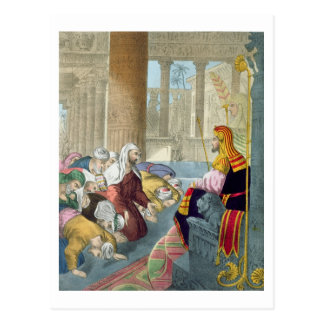 Joseph Receiving the Homage of his Brethren, from Postcard