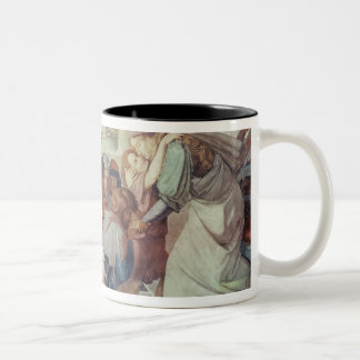 Joseph recognised by his brothers Two-Tone coffee mug