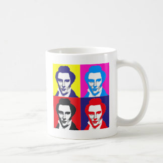 Joseph Smith Pop Art Basic White Mug