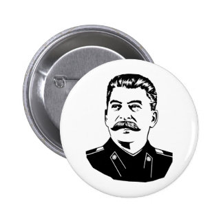 Joseph Stalin Portrait 6 Cm Round Badge
