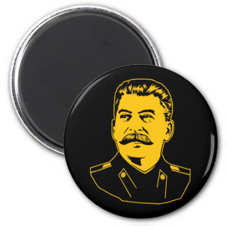 Joseph Stalin Portrait 6 Cm Round Magnet