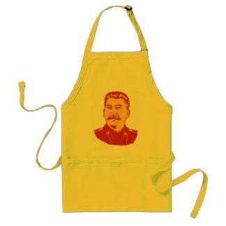 Joseph Stalin Portrait Adult Apron
