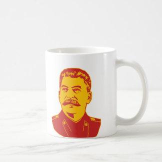Joseph Stalin Portrait Basic White Mug