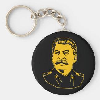 Joseph Stalin Portrait Keychain