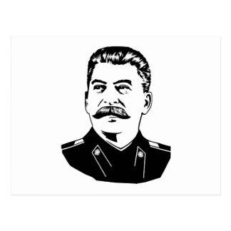 Joseph Stalin Portrait Postcard