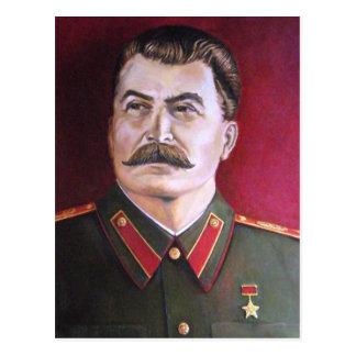 Joseph Stalin Postcard