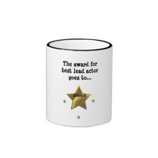 JOSEPH: The Award For Best Lead Actor Ringer Mug