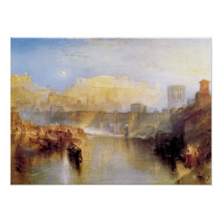 Joseph Turner - Ancient Rome Poster