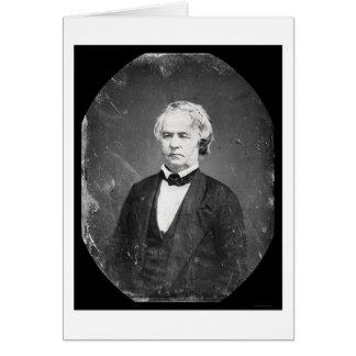 Joseph Vance Congressman Daguerreotype 1836 Greeting Card