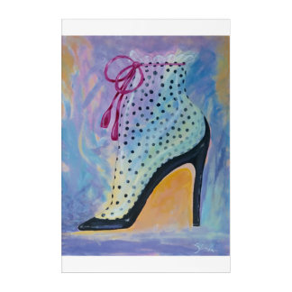 Josephine Baker in Paris Canvas Acrylic Print
