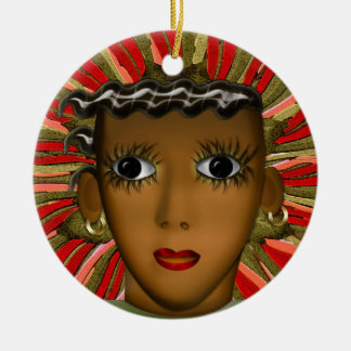 Josephine Baker in the 21st Century (Personalized) Christmas Ornament