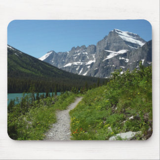 Josephine Lake Trail with Mount Guild at Glacier Mouse Pad
