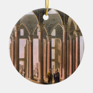 Joseph's Hall in the Castle of Cairo, plate 31 fro Christmas Ornament