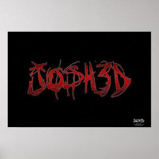 Josh 3D Poster