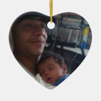 Josh and one twin  Ornament