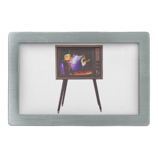 Josh West Live Design Rectangular Belt Buckle