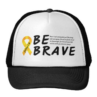 Joshua 1:9 Be Brave Cap