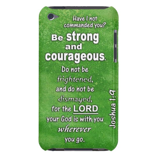 Joshua 1:9 Be Strong and Courageous Bible Verse