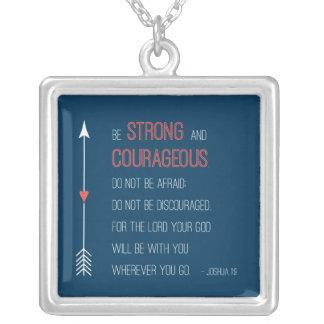 Joshua 1:9 Necklace