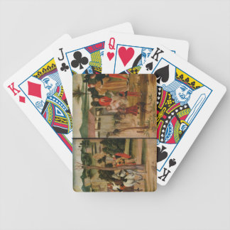 Joshua at the Walls of Jericho Bicycle Playing Cards