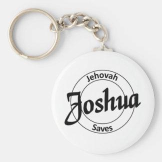 Joshua Basic Round Button Key Ring