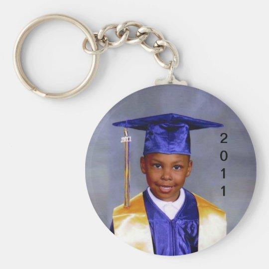 Joshua_Grad Basic Round Button Key Ring