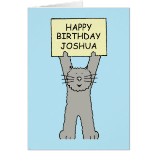 Joshua Happy Birthday Card