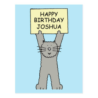 Joshua Happy Birthday Postcard