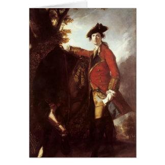 Joshua Reynolds- Captain Robert Orme Greeting Card