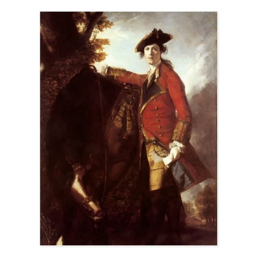 Joshua Reynolds- Captain Robert Orme Post Cards