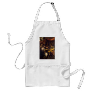 Joshua Reynolds- Continence of Scipio Adult Apron