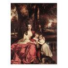 Joshua Reynolds- Lady Delm and her Children Postcard