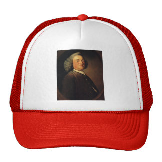 Joshua Reynolds- Man in a Brown Coat Mesh Hat