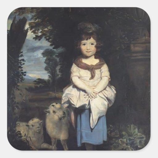 Joshua Reynolds- Miss Price Stickers