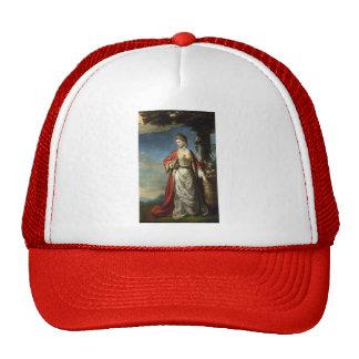 Joshua Reynolds- Mrs. Trecothick Beside an Urn Cap
