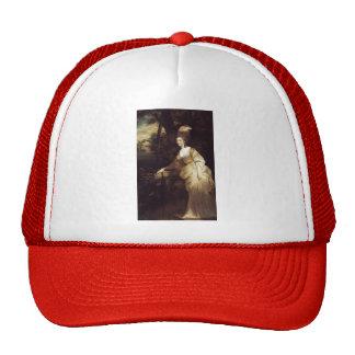 Joshua Reynolds- Portrait of Georgiana Trucker Hat