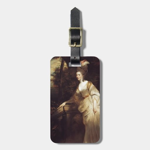 Joshua Reynolds- Portrait of Georgiana Luggage Tags