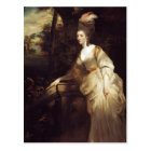Joshua Reynolds- Portrait of Georgiana Postcard