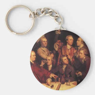 Joshua Reynolds- The Dilettanti Society Key Ring